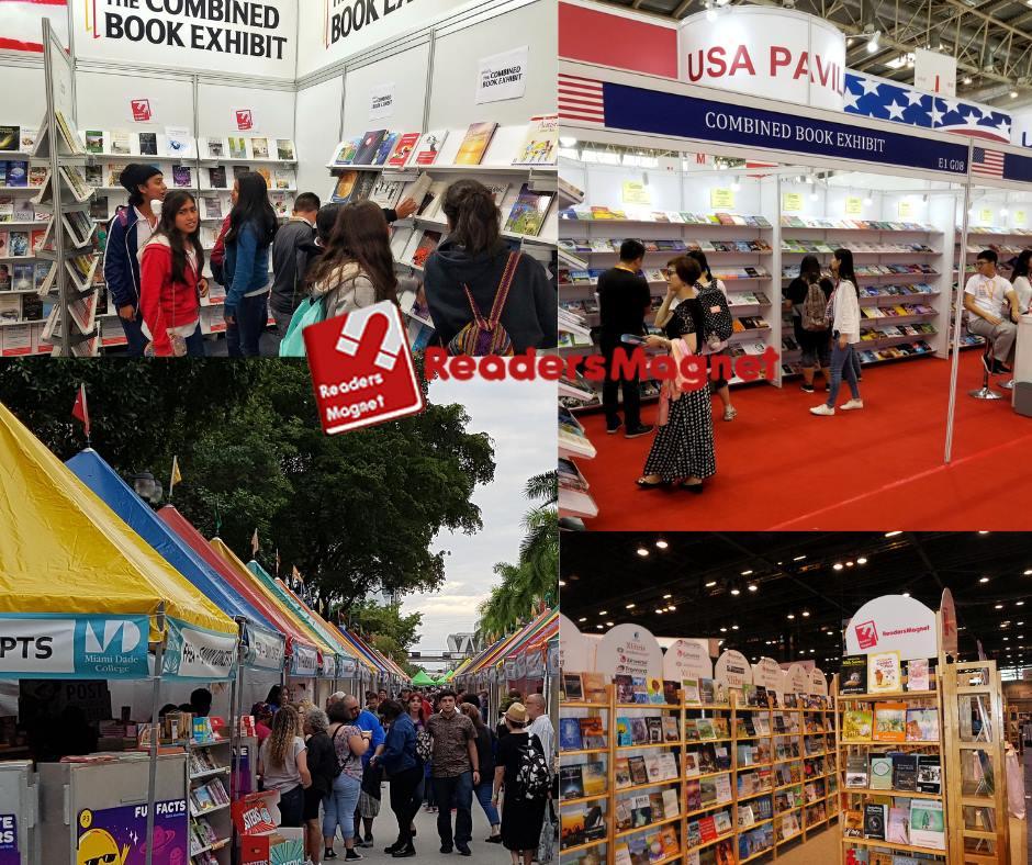 ReadersMagnet Book fairs