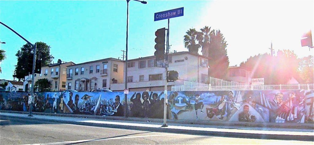 Mural in Crenshaw District, LA