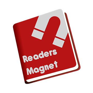 ReadersMagnet's official logo.